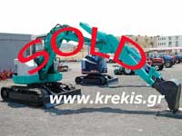 USED MINI EXCAVATOR IHI 5,5 ton
